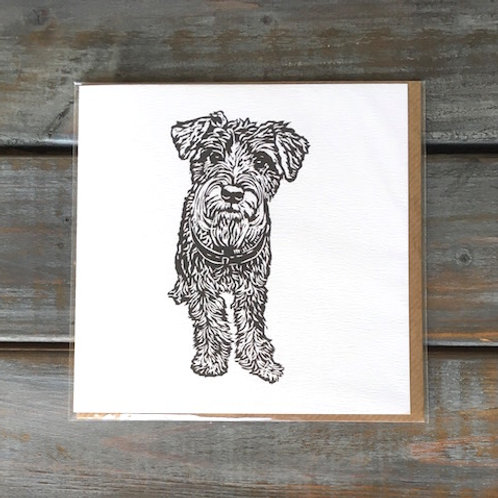 'Kevin the Schnauzer' Card