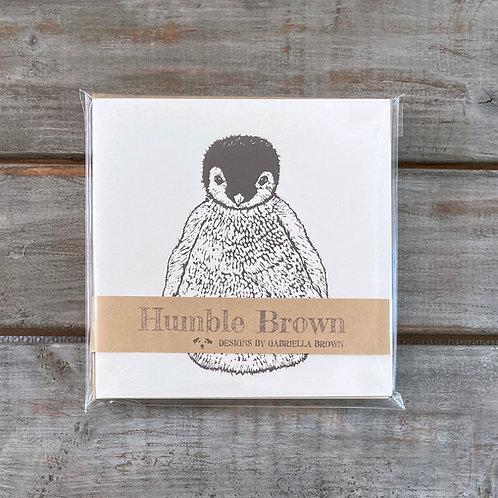 'Penguin Chick' Card Set