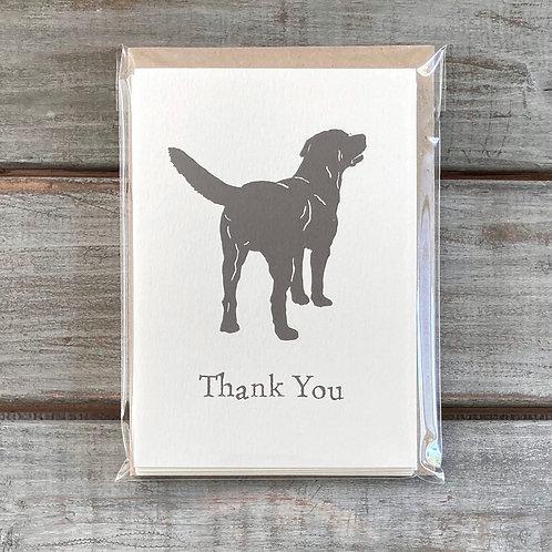 'Ben the Labrador' Thank You Card Set