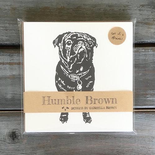 Milo the Pug Card Set