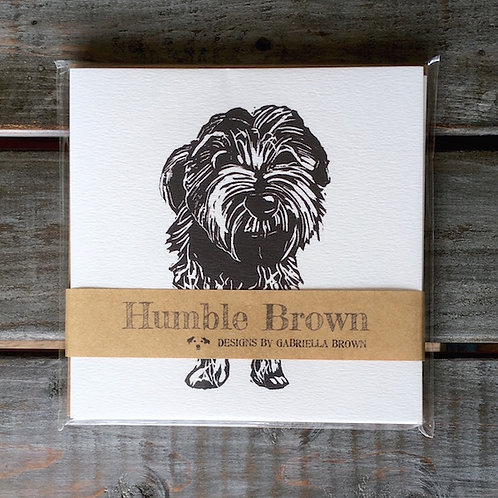 'Motley the Terrier' Card Set