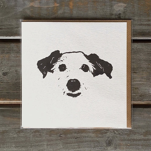 'Chukka the Jack Russell' Card
