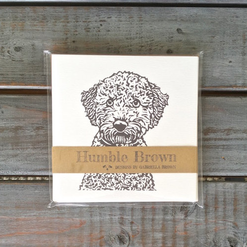 Bella the Poodle Card Set