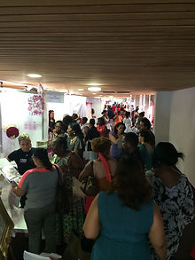 Les visiteurs au Salon du Mariage de Martinique