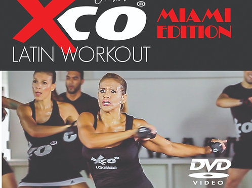 XCO® LATIN BY JACKIE MIAMI EDITION (DVD)