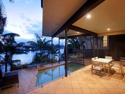 riverside pool terrace