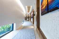 hallway to guest bedrooms