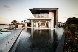 lagoon & living room