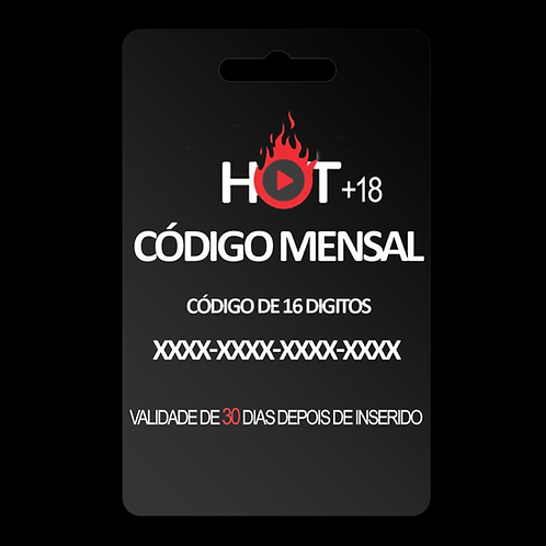 CÓDIGO HOT TV 30 DIAS