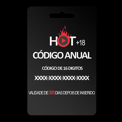 CÓDIGO HOT TV 1 ANO (365 DIAS)