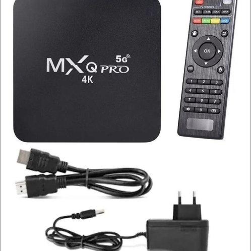 tv box androd 10.1 espaço rom 64 gb memoria 4 gb wi fi 5G ja incluso frete