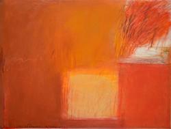 Passage vers le sud (gaeta I). 20014. Huile sur papier. 56x76 cm