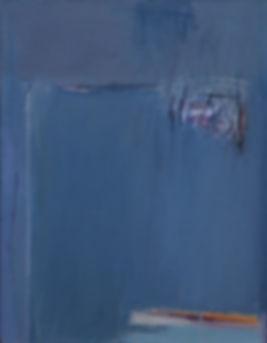 Décembre. Huile sur toile. 65x50 cm. 2016