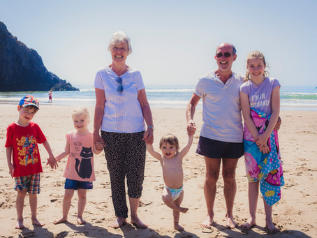 The Shears Family - Three Cliffs Bay