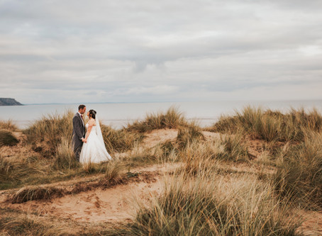 Oxwich bay wedding - hannah & Ed