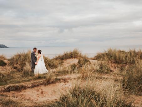 Oxwich bay wedding - hannah & Ed