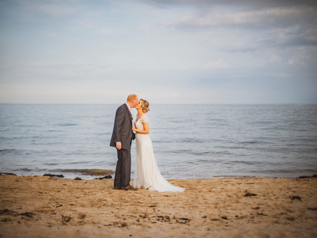 Lindsay & Leon - Oxwich bay Wedding