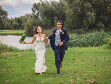 Becca & Sam Wedding - Peterstone Lakes Cardiff