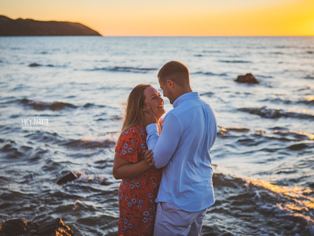 Llanmadoc Beach - Engagement Shoot