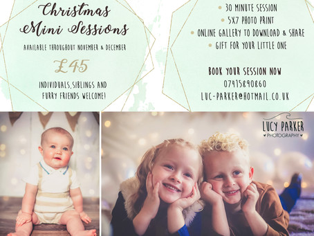 Christmas Mini Sessions 2018