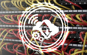 Data web digital cloud IoT network busin