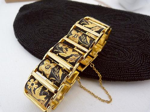 Genuine damascene bracelet