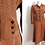 Thumbnail: 40s skirt and jacket suit with small polka dots