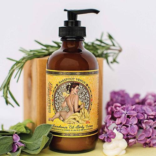 BAREFOOT VENUS - Crème pour le corps à l'huile de Macadamia