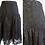 Thumbnail: Jupe midi noire en dentelle avec crinoline