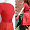 Thumbnail: Short dress with pleated silk skirt - Henri Bendel