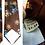 Thumbnail: Cravate brocard brune, motifs floraux - Monsieur Pierre