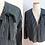 Thumbnail: Veste légère à rayures Kay Windsor - Années 50