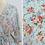 Thumbnail: Aqua floral bathrobe