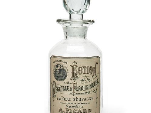 Flacon à lotion en verre style vintage - Classique