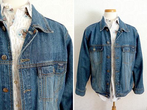 Veste en jeans / denim - Années 80