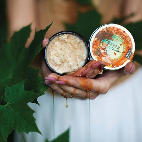 BAREFOOT VENUS -Exfoliant aux grains de sucre avec Huile de Coco - Maple Blondie