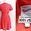 Thumbnail: Robe rose 100% soie - Mancini - Années 60