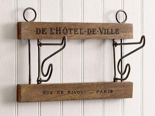 """Double crochet mural """"De L'Hotel De Ville"""""""