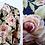 Thumbnail: Robe longue à motif floral, manches mi-longues