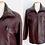Thumbnail: Blouson / Veste aviateur en cuir, doublure amovible