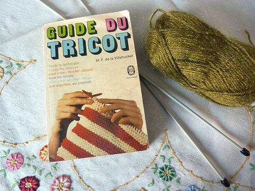 Livre de poche - Guide du tricot - 1975
