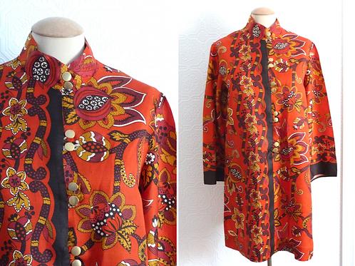 Retro tunic, Mandarin collar