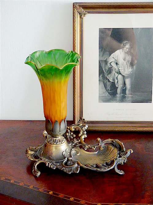 Lampe Fleur style Art Nouveau L&L WMC