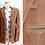 Thumbnail: Veste en suede brune - Années 70