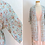 Thumbnail: Peignoir aqua à motif floral