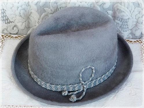 Biltmore Panda Fur Felt Hat - 6-3/4 - 1960s