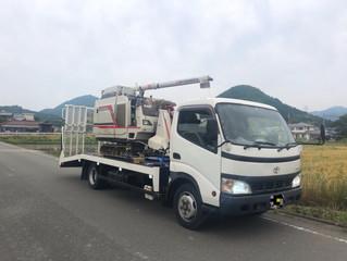 兵庫県内チャーター セルフ 農機具運搬