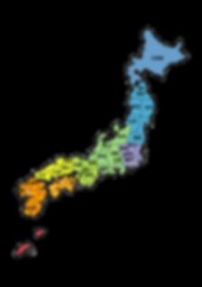 ルート陸送 日本地図