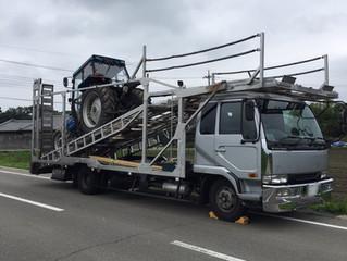 関東〜東北 陸送中 キャリアカー / 九州〜関西 二台積み キャリアカー