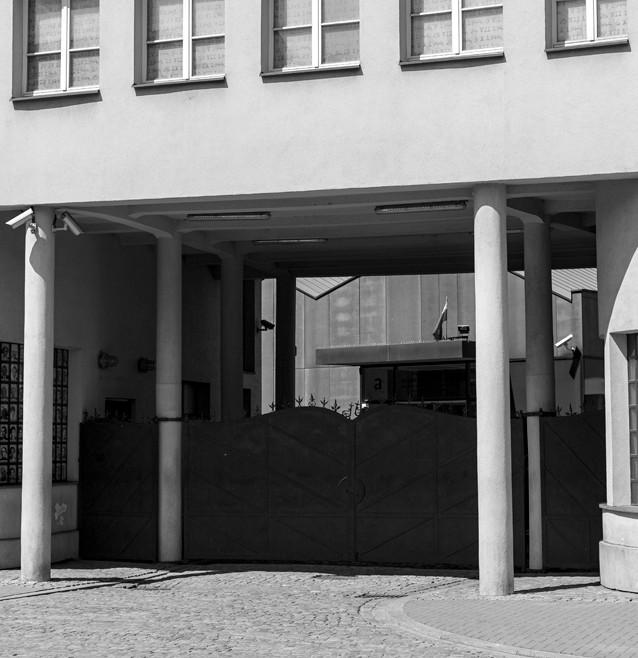 "Oskar Schindlers fabrik, både i verkligheten och i ""Schindler's List"", Krakow, Polen."
